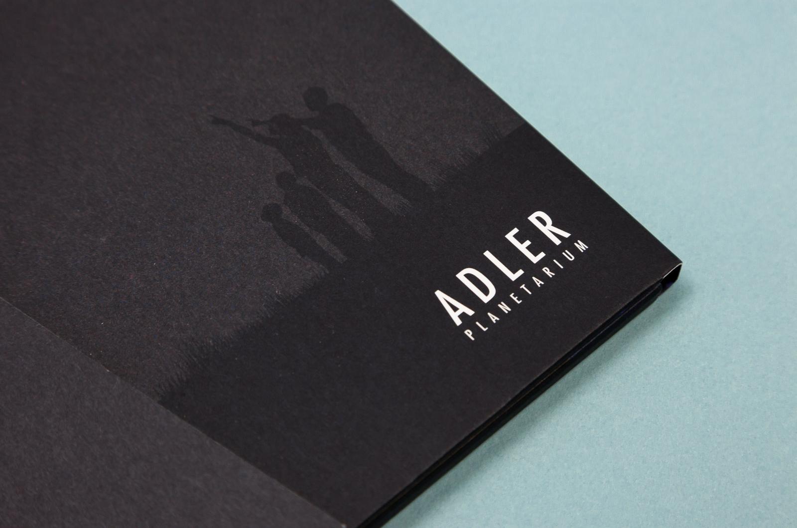 Adler Folder / Shepard Society Newsletter Image