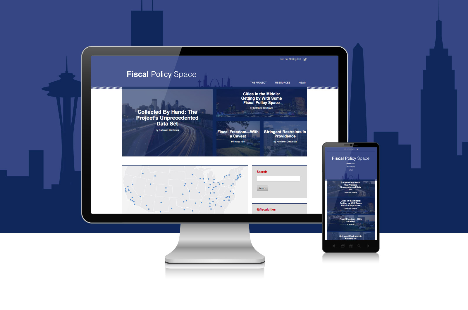 Great Cities—Fiscal Policy Space Website Image